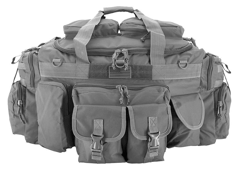 The Tank Duffle Bag (Large) - Grey