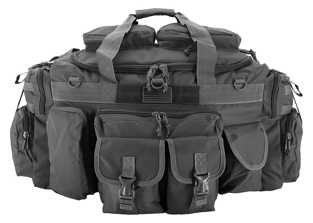 The Tank Duffle Bag - Grey