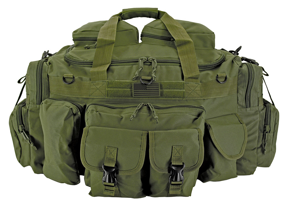 The Tank Duffle Bag - Olive Green