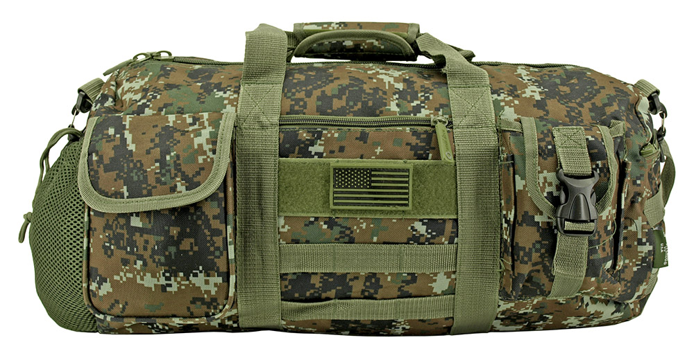 The Tactical Duffle Bag (Small) - Green Digital Camo