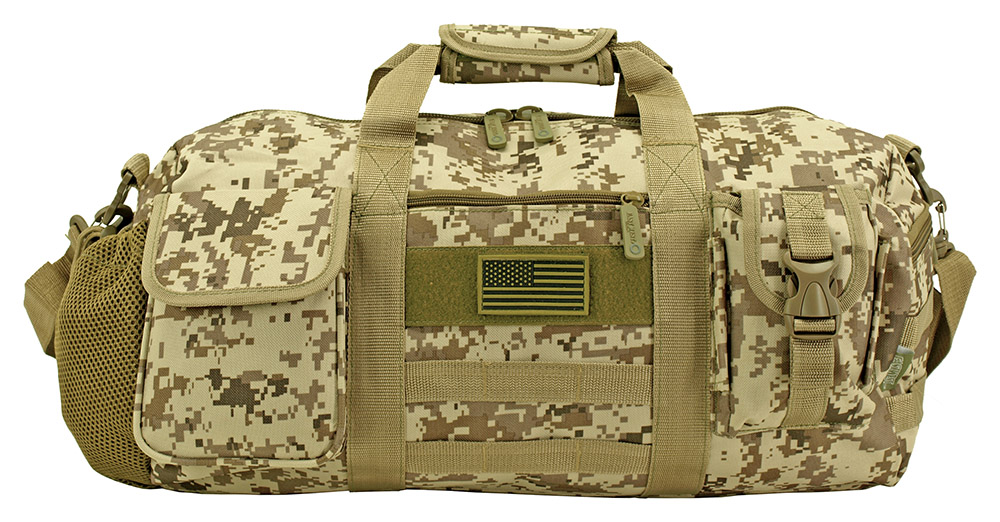 5d031e06f598 The Tactical Duffle Bag (Small) - Desert Digital Camo