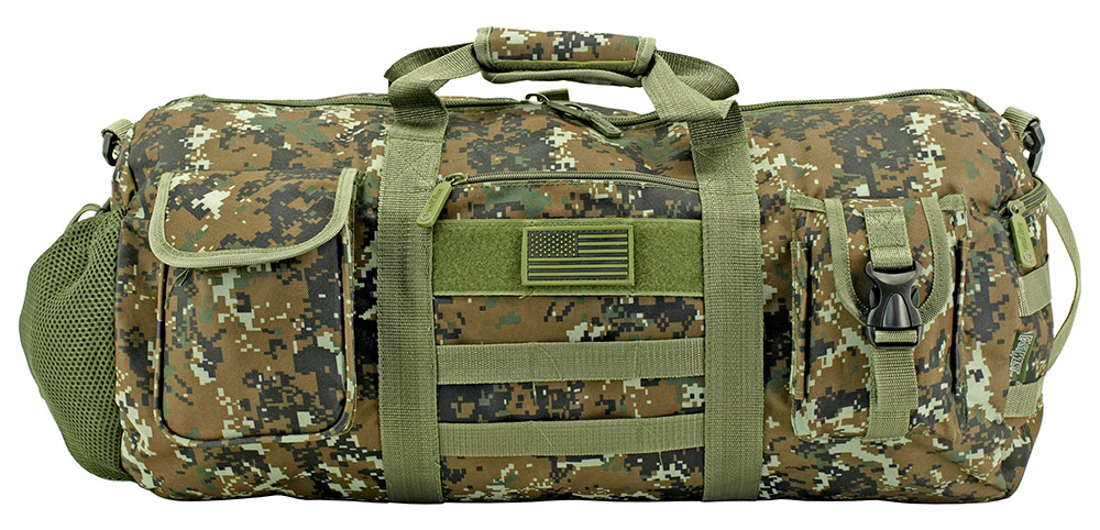 The Tactical Duffle Bag - Green Digital Camo