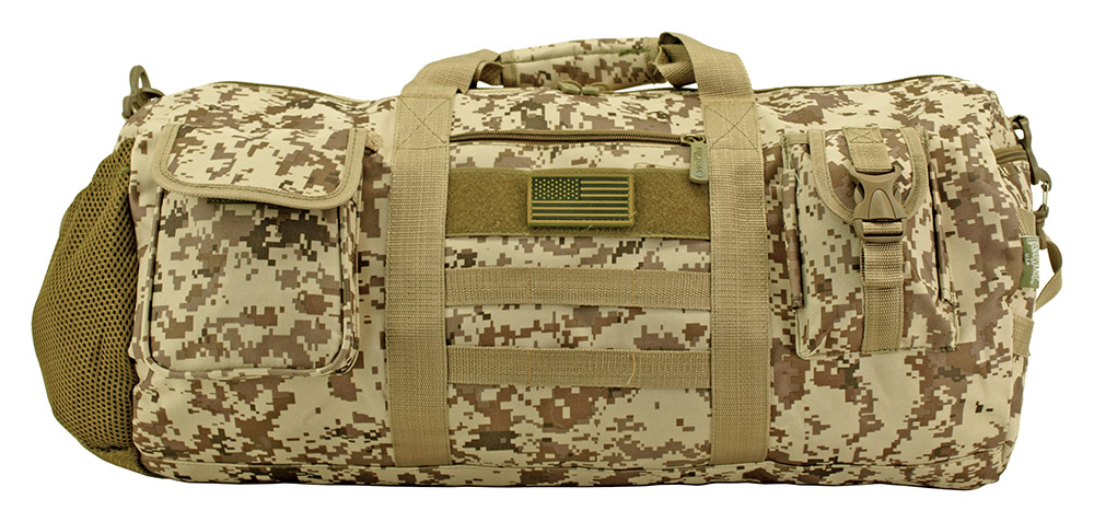 ca3b12668ee1 The Tactical Duffle Bag - Desert Digital Camo. Click to enlarge ...