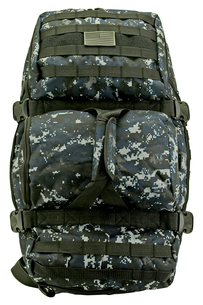 Tactical Journeyman (Large) - Blue Digital Camo