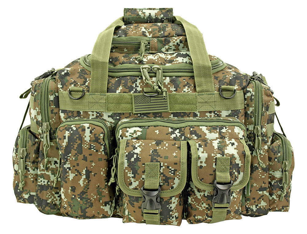 The Humvee Duffle Bag - Green Digital Camo