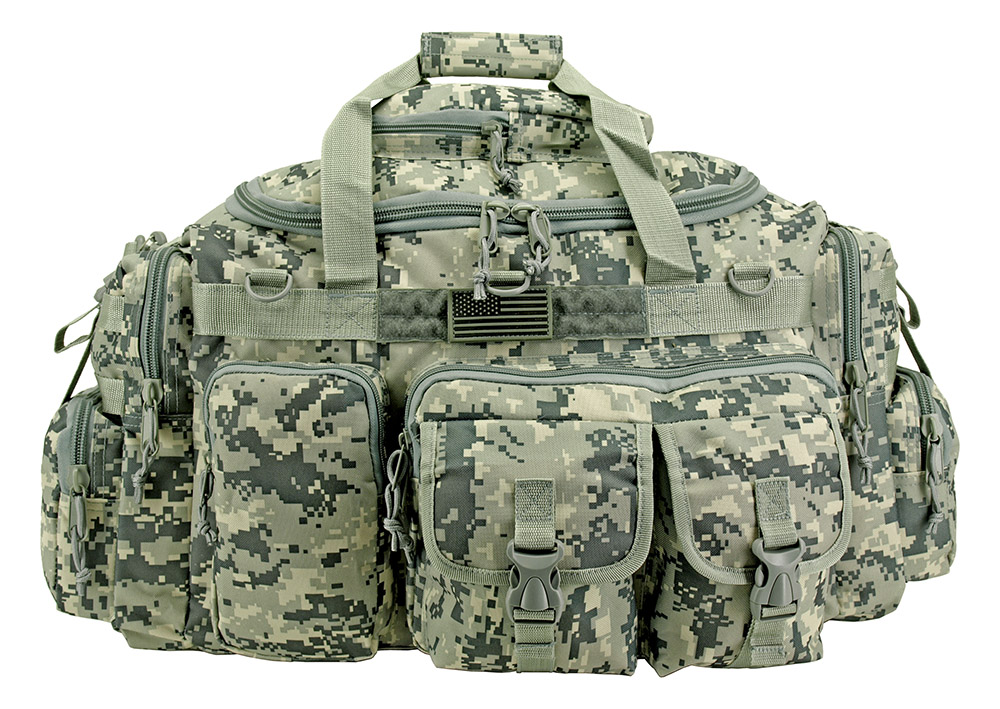 The Humvee Duffle Bag (Large) - Digital Camo