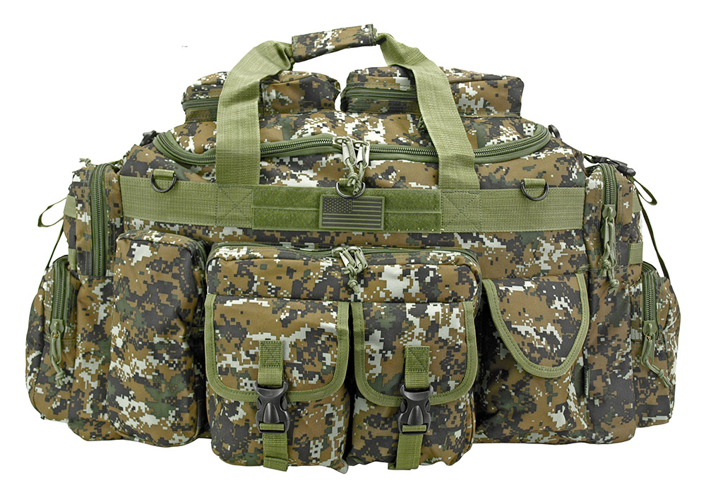 The Tank Duffle Bag (Large) - Green Digital Camo