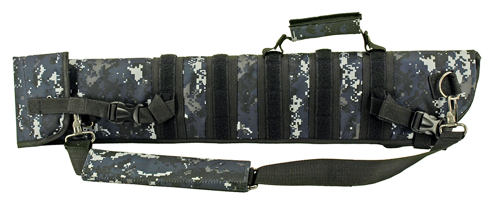 Tactical Rifle Case - Blue Digital Camo