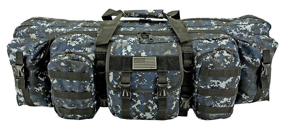 Infantryman Gun Bag - Blue Digital Camo