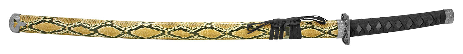 37 in Traditional Dragon Samurai Sword - Snake