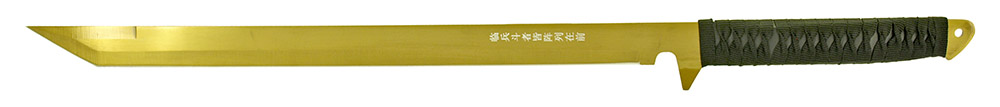 2 - pc. Samurai Style Sword Set - Gold