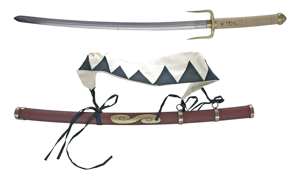 41 in Double Blade Samurai Sword with Sash