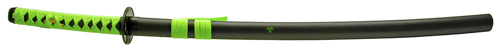 37 in Samurai Sword - Zombie Green