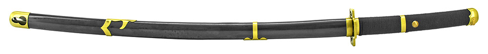 40.5 in Samurai Sword - Black and Gold