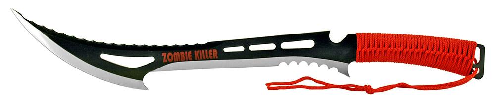 24 in Zombie Killer Machete - Red