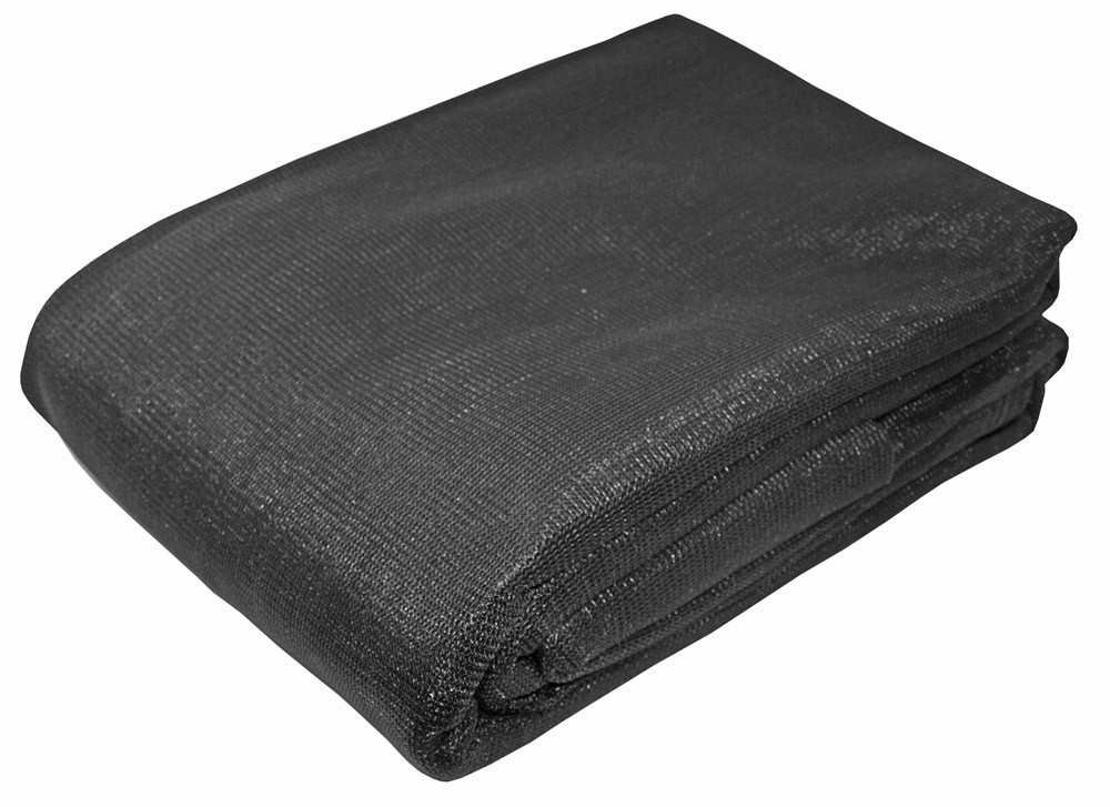 10' x 10' Mesh Shade Tarp - Black