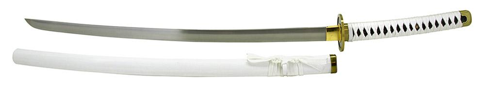 41 in Full Tang Samurai Sword - White