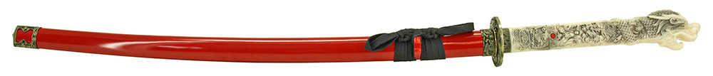 41 in Musha Samurai Sword - Red