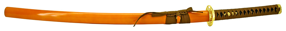 39.25 in Musha Samurai Sword - Golden