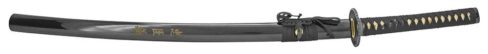 39.25 in Musha Samurai Sword - Black