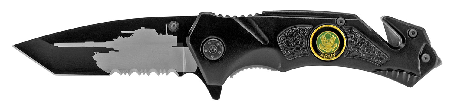 4.5 in Tactical Army Pocket Knife