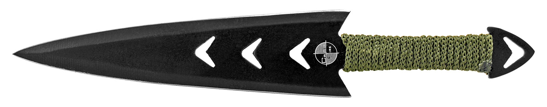 3 - pc. Arrowhead Throwing Knife Set - Black