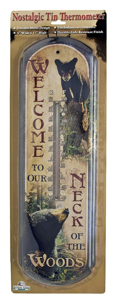 Bear Welcome Thermometer