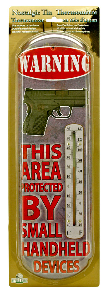 Area Protected by Small Handheld Devices Thermometer