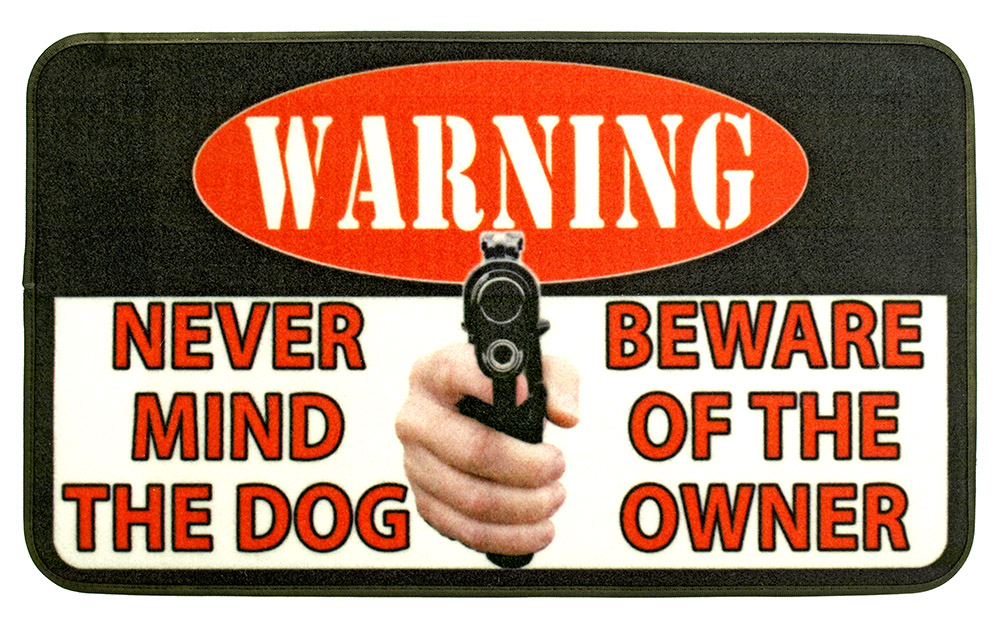 Nevermind the Dog Door Mat