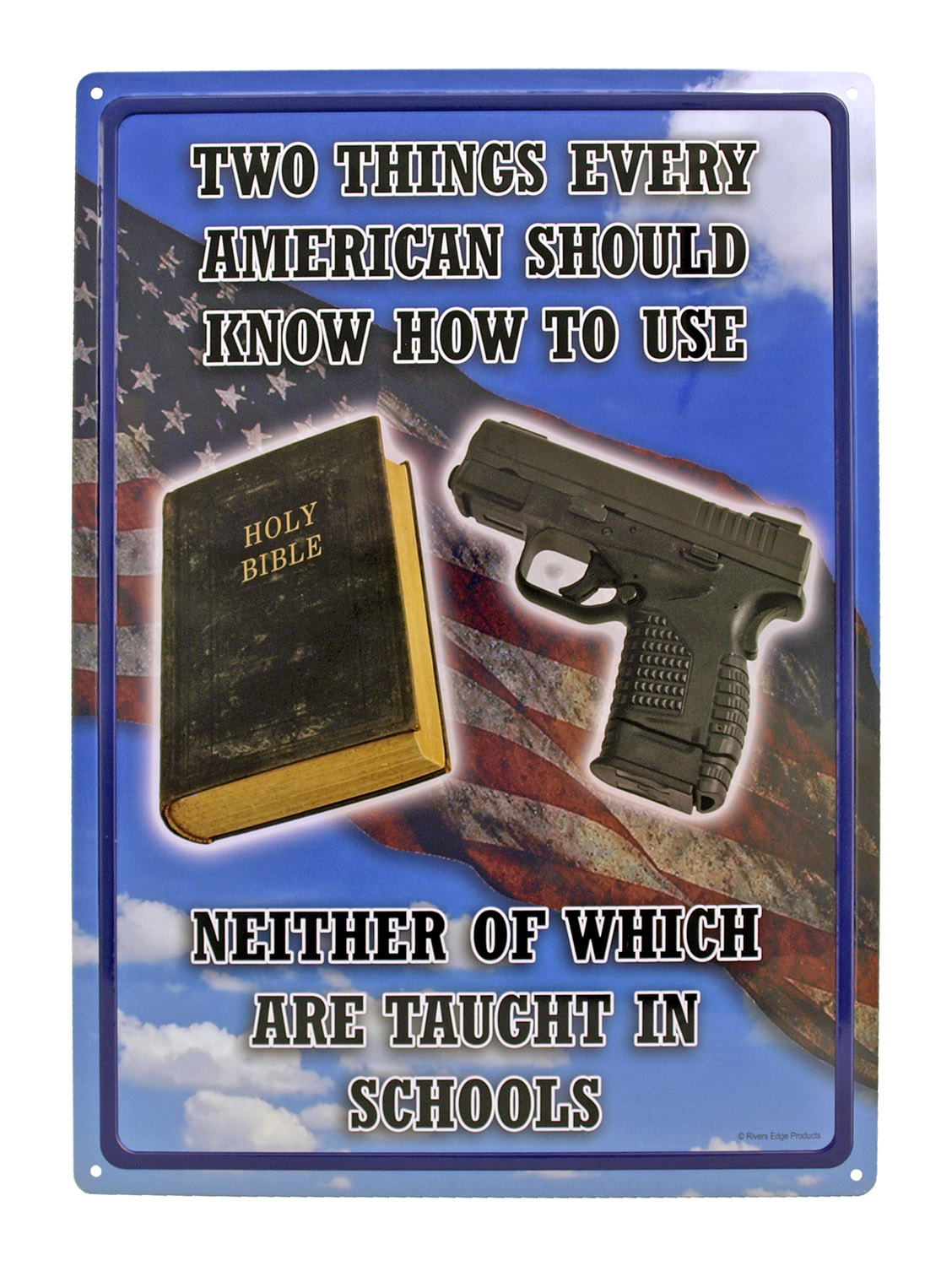 Every American Should Know How to Use - Tin Sign