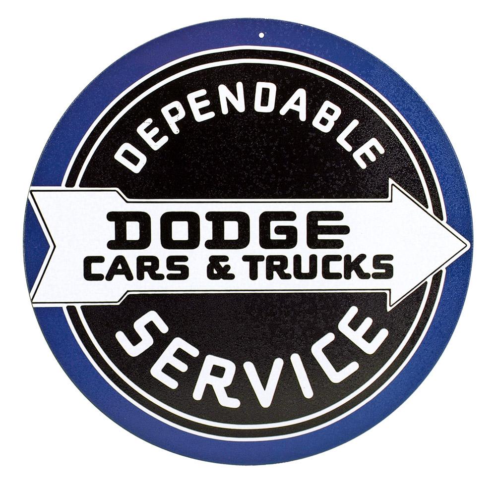 Dependable Dodge Tin Sign