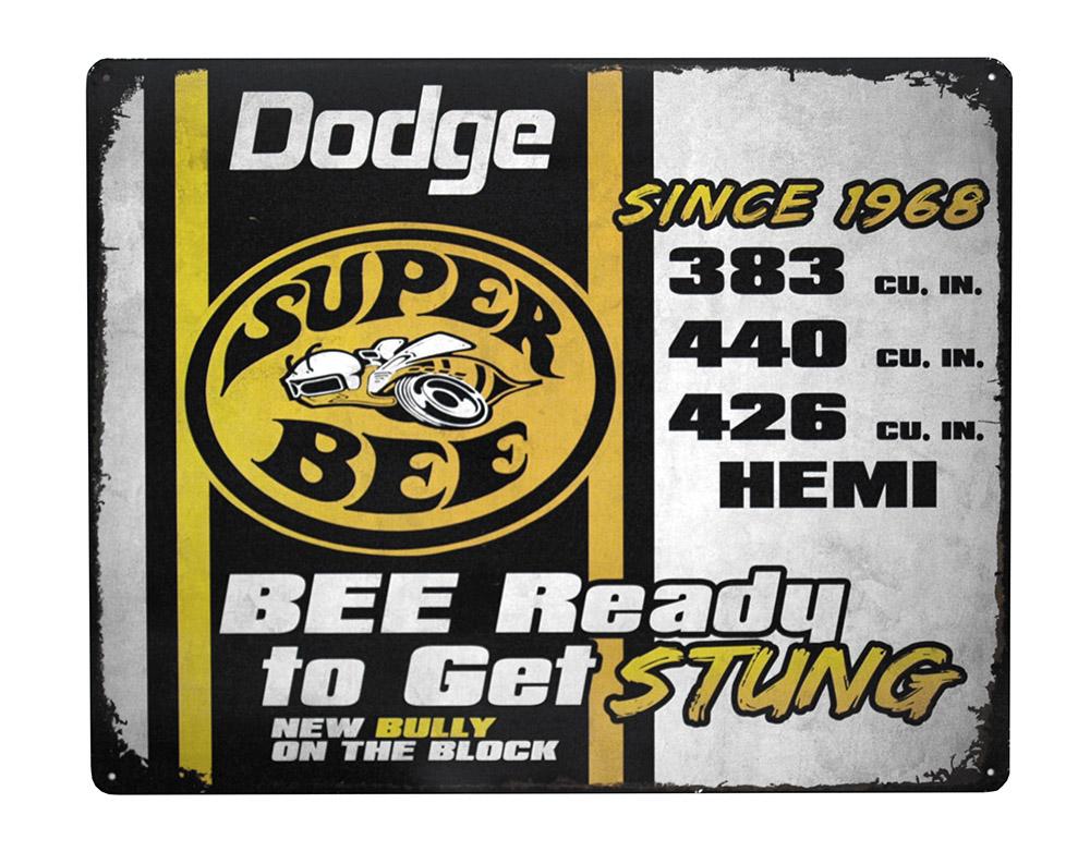 Dodge Super Bee Tin Sign