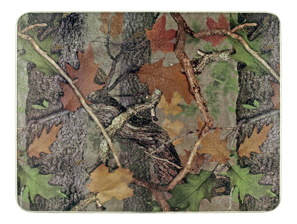 Tempered Glass Cutting Board - Woodland Camo