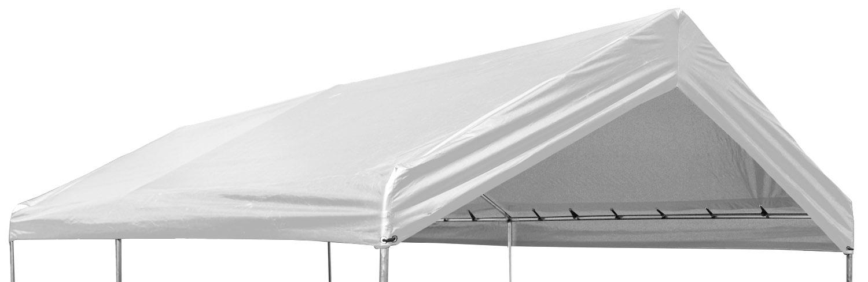 12 x 20 Valance Canopy Tarp - White