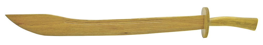 33 in Wooden Chinese Broad Sword