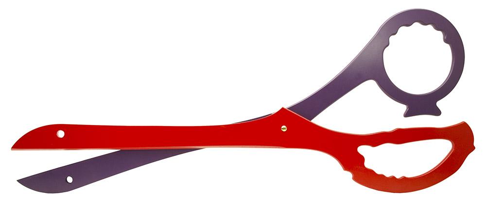 41 in Anime Scissor Blade Set