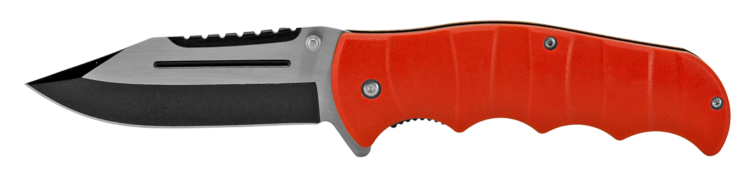 4.88 in Classic Folding Knife - Red
