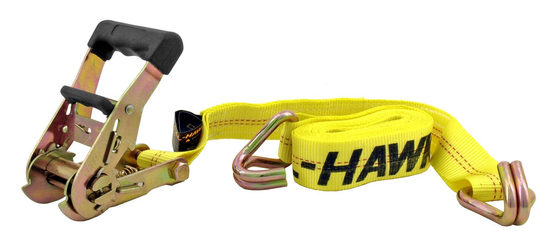 1.5 inx 15' Ratchet Towing Tie Down Straps - Cal-Hawk