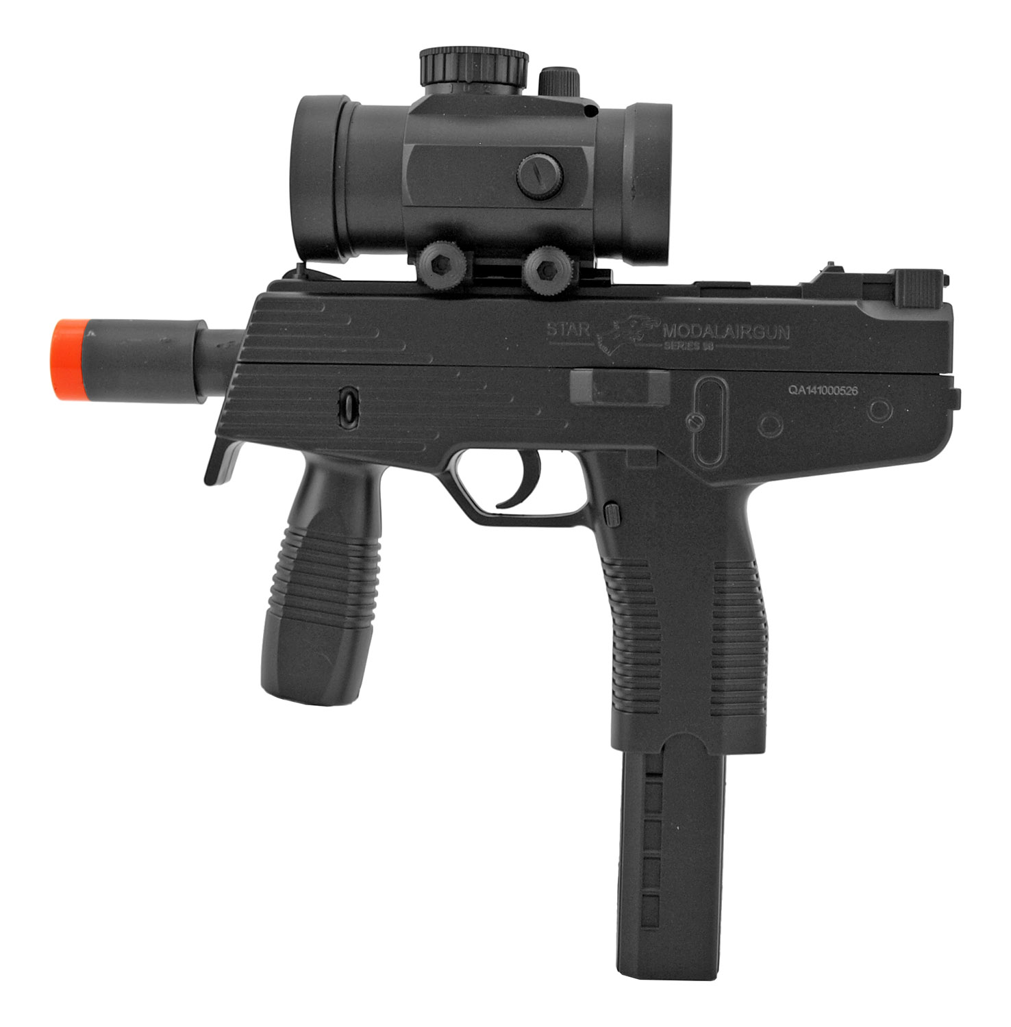 Double Eagle M30GL Spring Powered .177 Cal. Airsoft Plastic BB Airgun Pistol