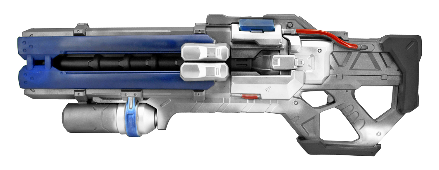 76 Foam Rifle - Black and Blue