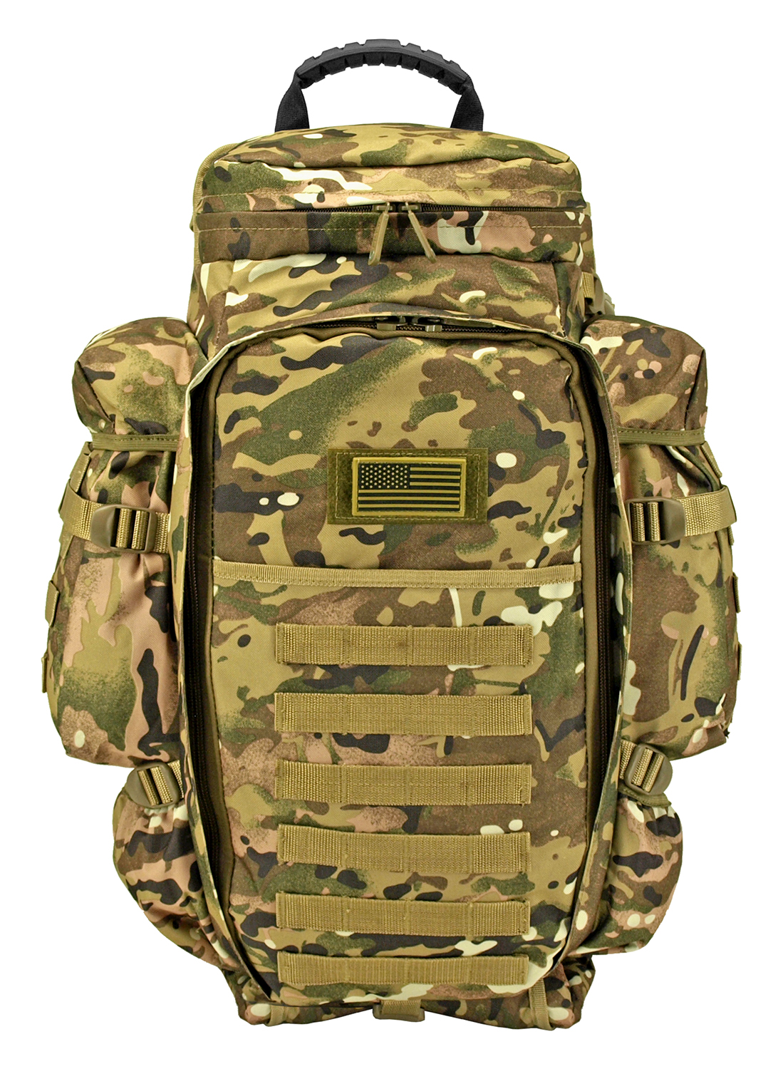 East West 9.11 Tactical Full Gear Rifle Backpack - Multicam