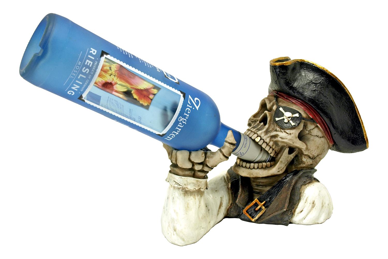 Booty of the Vine - Pirate Skeleton Wine Bottle Holder