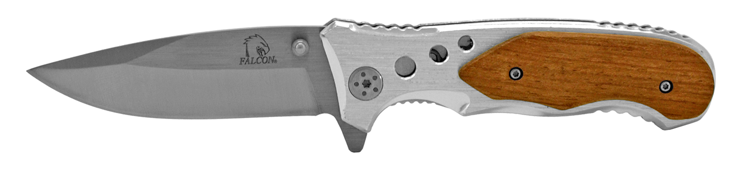 4.5 in Full Metal Folding Pocket Knife - Grey