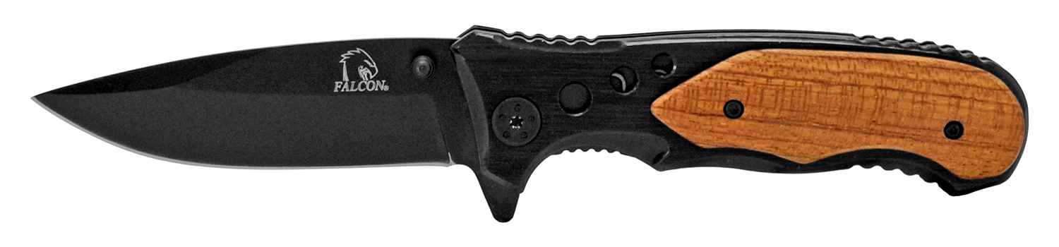 4.5 in Full Metal Folding Pocket Knife - Black