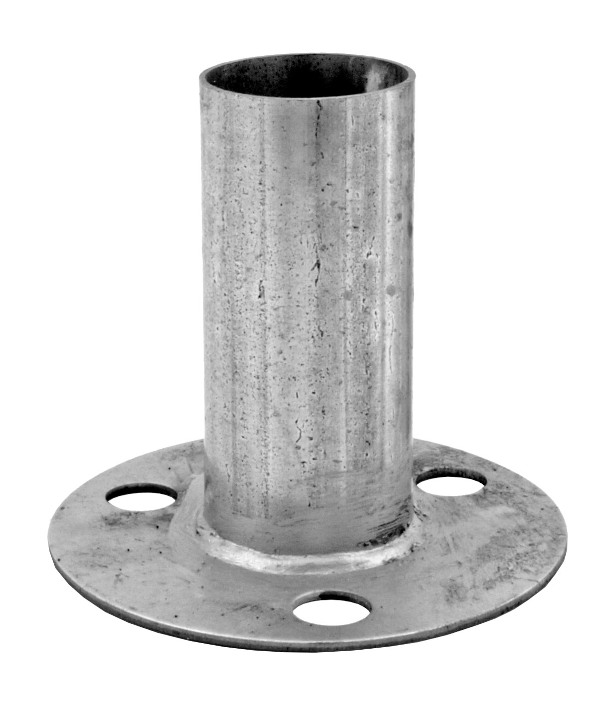 1 - 7/8 in Canopy Pipe Foot Pad for 1 - 5/8 in Coping Pipe