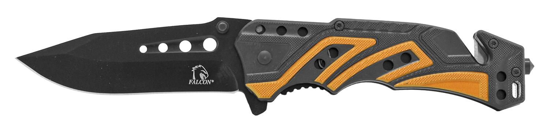 4.63 in Tactical Rescue Pocket Knife - Orange
