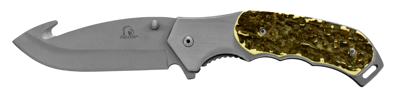 4.88 in Classic Hunting Pocket Knife - Faux Bone