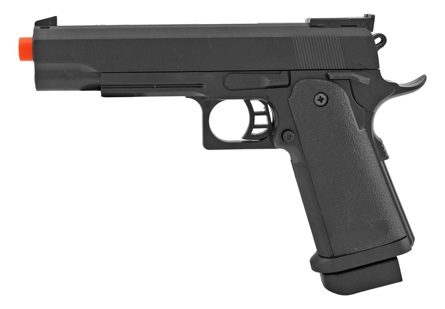UK Arms M1911 P2011BAG Spring Powered Airsoft Hand Gun - Black