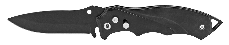 4.63 in Sleek Switchblade - Black