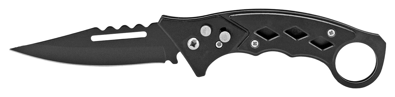 4.75 in Karambit Styled Switchblade - Black